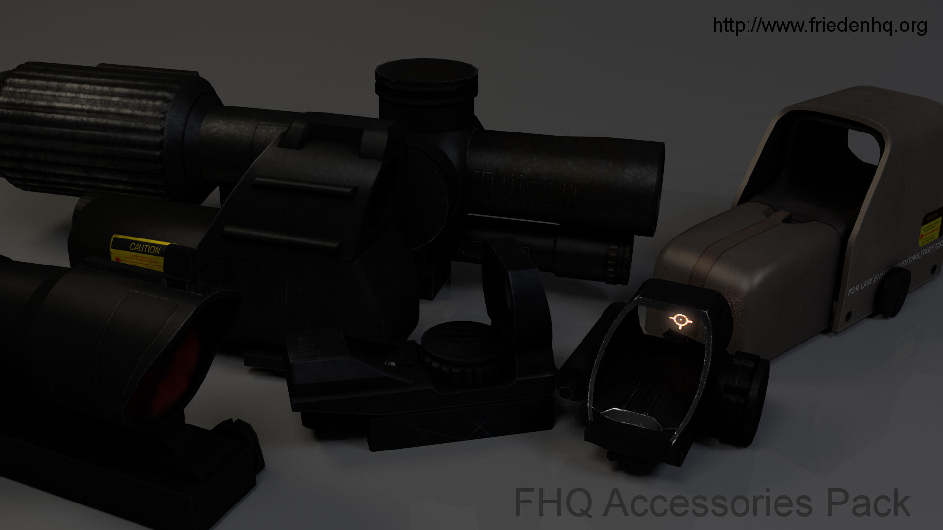 FHQ Accessories Pack updated to 1.7